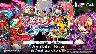 GAL*GUNVOLT BURST Rival Characters DLC - Official Trailer