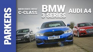 BMW 3 Series 2019 vs Audi A4 vs Mercedes-Benz C-Class – Group Test | Which one would you buy?
