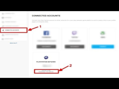 HOW TO LINK YOUR EPIC ACCOUNT TO A NEW PSN/XBOX ACCOUNT