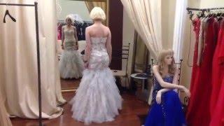 Вечернее-свадебное платье от Jovani