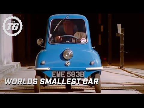 The Smallest Car In The World At The Bbc Top Gear Bbc