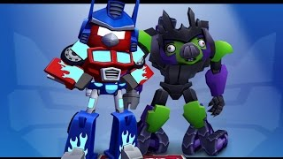 Angry Birds Transformers - Energon Optimus Prime Unlocked New Weapons Gameplay Walkthrough #18