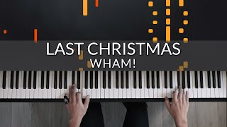 Wham! - Last Christmas | Tutorial of my Piano Cover видео