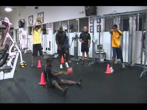 Круговая тренировка для бокса