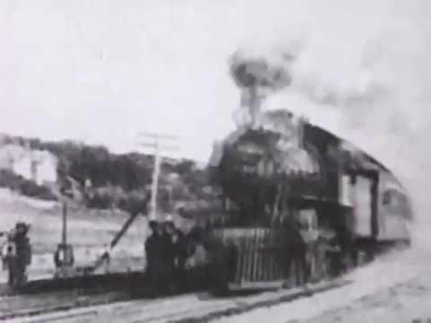 Thomas Edison, Train Films 1897-1906, Historic American Steam Trains - HD