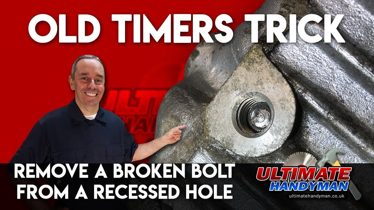 Remove Broken Bolt >> How To Remove A Broken Bolt In A Deep Hole Remove Broken Bolt In