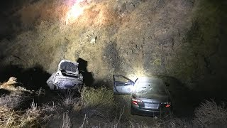 Stolen Car Found with Bullet Holes! and Freeway Accident!