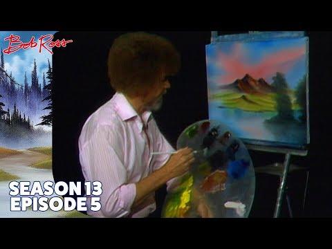 Bob Ross - Mountain View (Season 13 Episode 5)