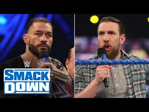 Daniel Bryan and Roman Reigns come face-to-face ahead of WWE Fastlane: SmackDown, March 19, 2021