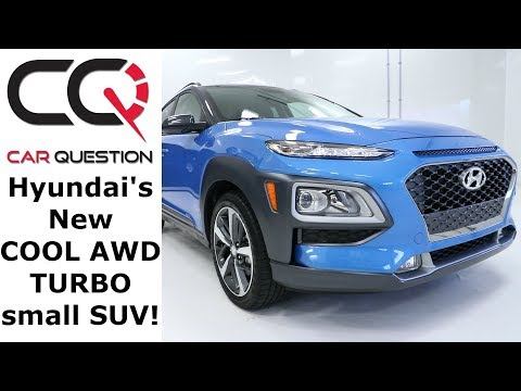 2018 Hyundai Kona 1.6L Turbo AWD Small, affordable and FAST Quick Review Part 1 4