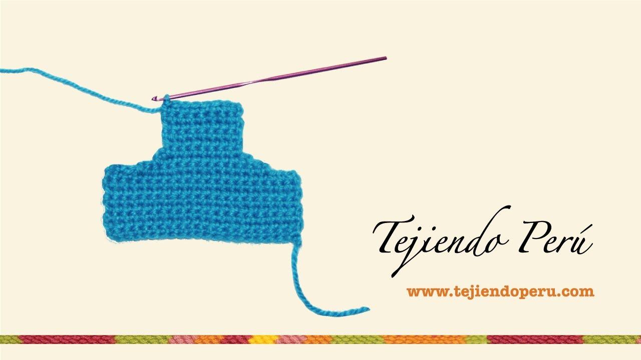 Cómo hacer disminuciones en crochet - YouTube