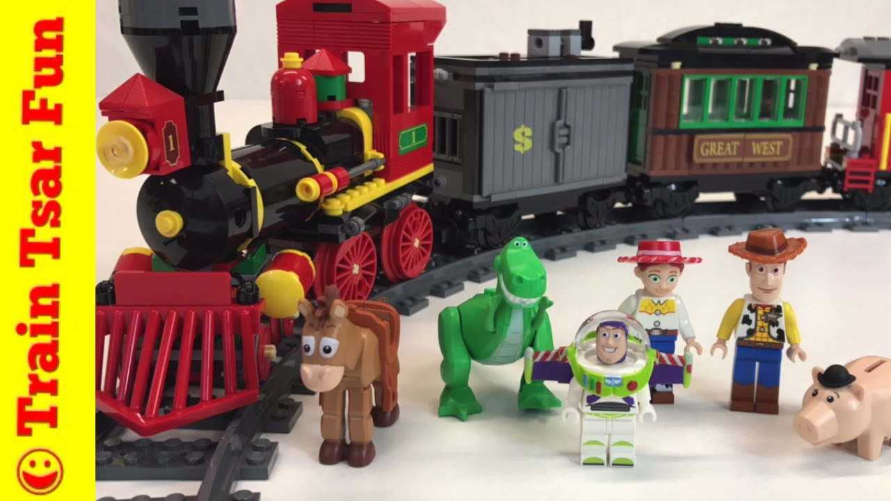 Toy story 3 lego western train chase set 7597 youtube - Lego toys story ...