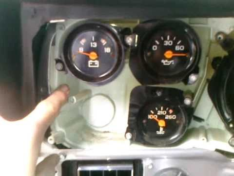 how to install a tachometer gm truck youtube. Black Bedroom Furniture Sets. Home Design Ideas