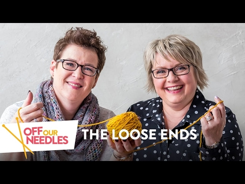 Striped Socks, Celebrities & Menopause (For Knitters Only)  | Off Our Needles LOOSE ENDS S1E5