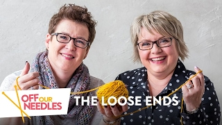 Striped Socks, Celebrities \u0026 Menopause (For Knitters Only)  | Off Our Needles LOOSE ENDS S1E5