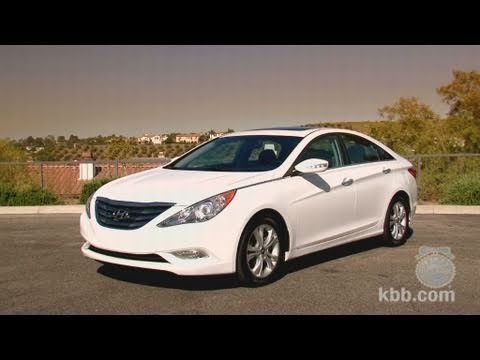 2011 Hyundai Sonata Review Kelley Blue Book Youtube