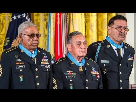 Medal of Honor Ceremony For 24 Army Veterans