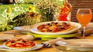 Choumicha : Pizza au poulet, champignons et poivrons | شميشة : بيتزا بالفطر الأبيض والدجاج