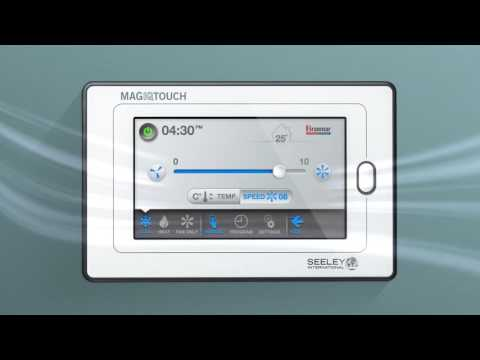 Braemar MagIQtouch Controller by Seeley International