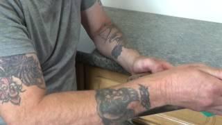 how to break in a new trowel