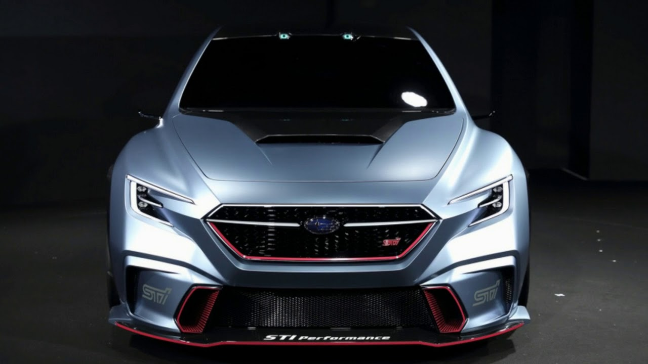 Subaru Viziv Performance Sti Concept A Future Of Wrx