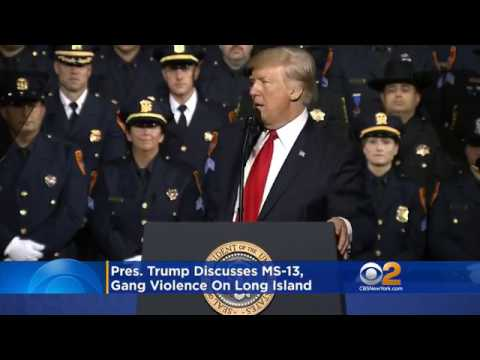 Trump encourages law enforcement in Suffolk County to violate human rights of suspects