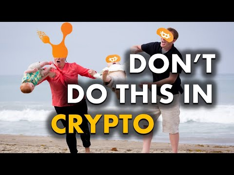 Don't do this in crypto – top 3 things to avoid