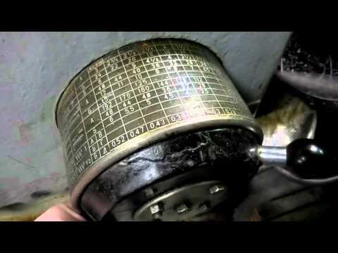 Как нарезать резьбу резцом на токарном станке 1к62 видео