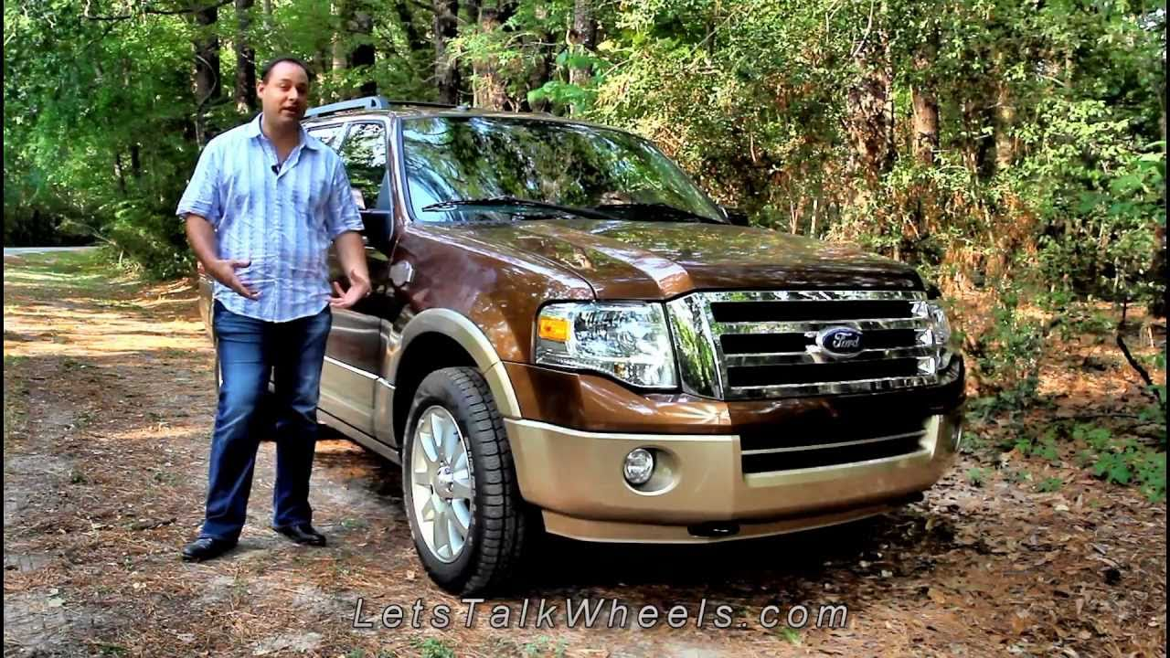 Ford Expedition Review >> 2011 Ford Expedition King Ranch Auto Review - YouTube