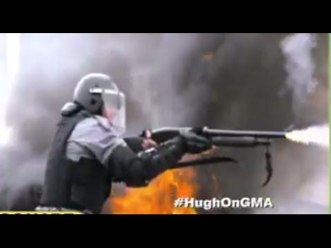 Chappie: Hugh Jackman Fights Robot Cop