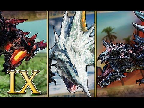 [MHGen] Hunting Log 192 -- Hellblade IX, Fin Finder & Hyper Glavenus