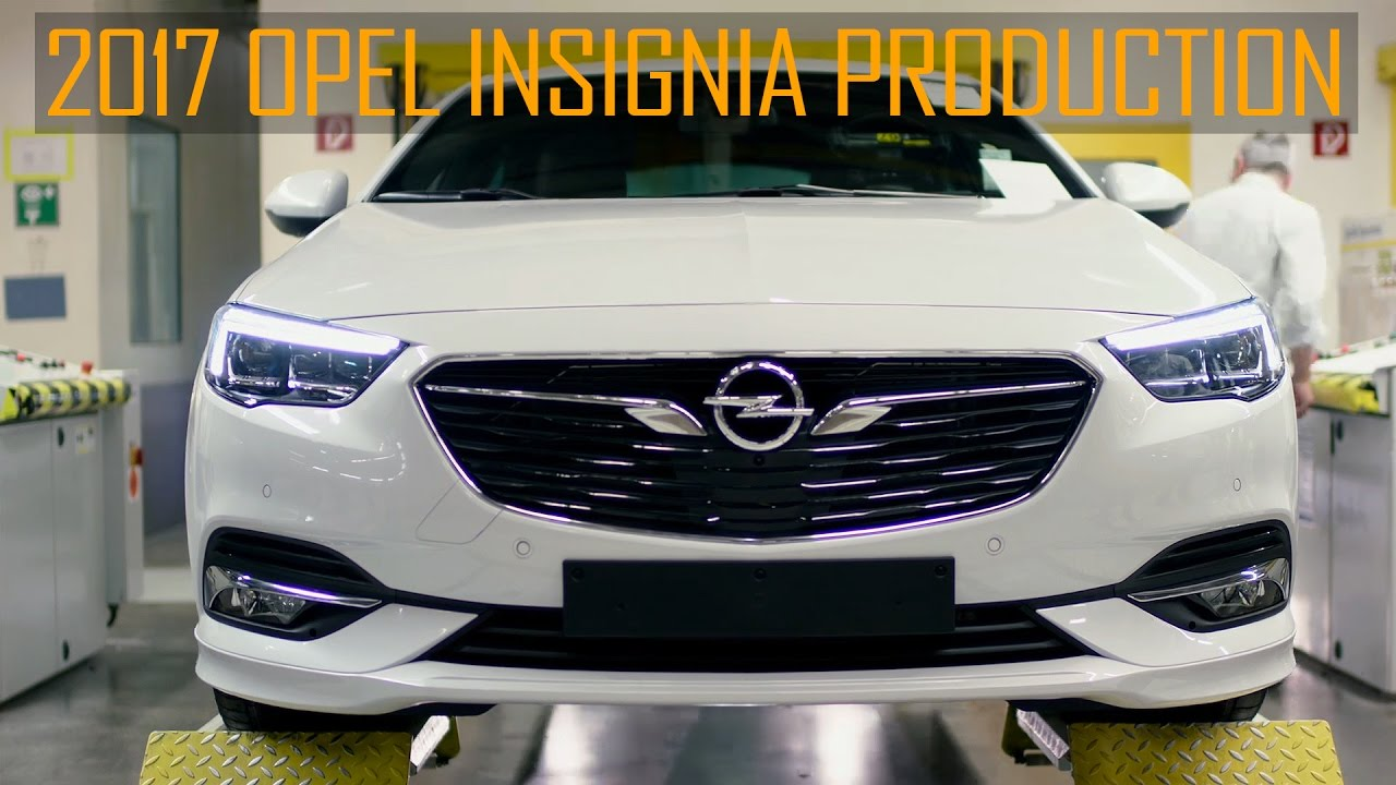 opel insignia grand sport production in ruesselsheim youtube. Black Bedroom Furniture Sets. Home Design Ideas