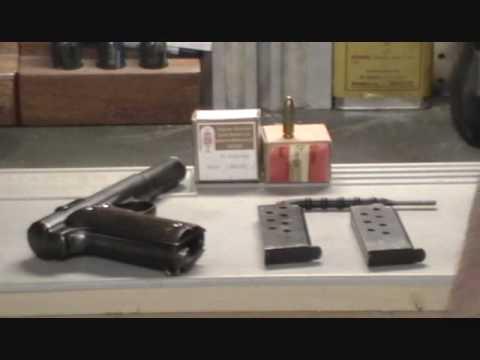 field stripping, Astra 400, Astra 1921, 9mm Largo, field strip procedure