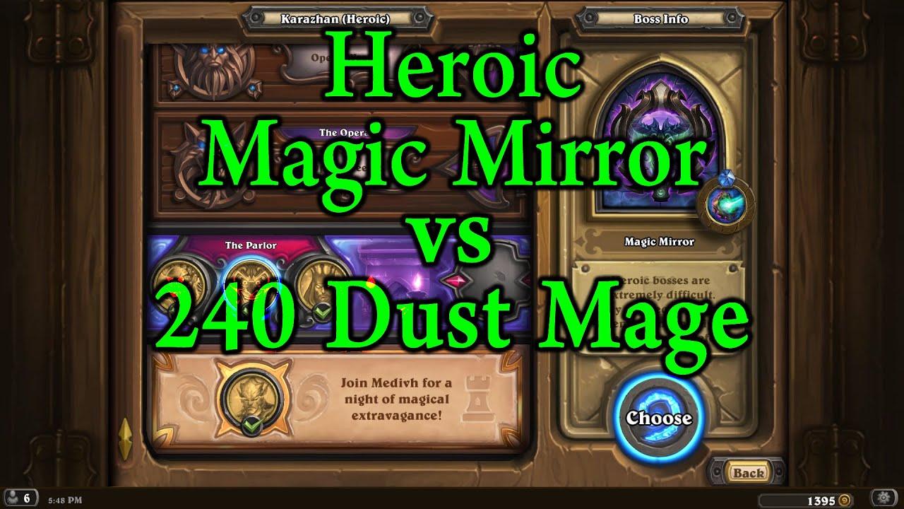 heroic magic mirror
