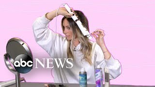 This celebrity stylist shows us how to get the perfect loose curl | GMA Digital