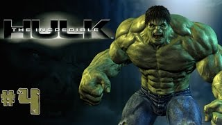 The Incredible Hulk - Walkthrough - Part 4 (PC) [HD]