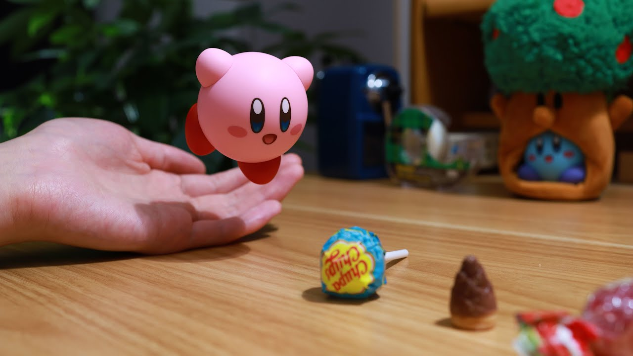 Kirby's Dream Land- Gourmet Race | Stop Motion