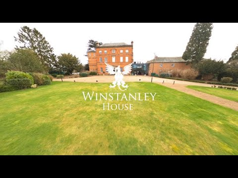 Winstanley House Drone Flythrough