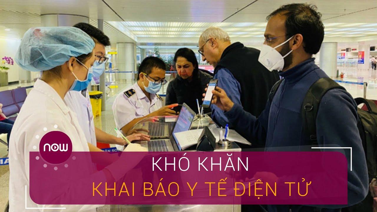 Người dân gặp khó khi khai báo điện y tế điện tử | VTC Now