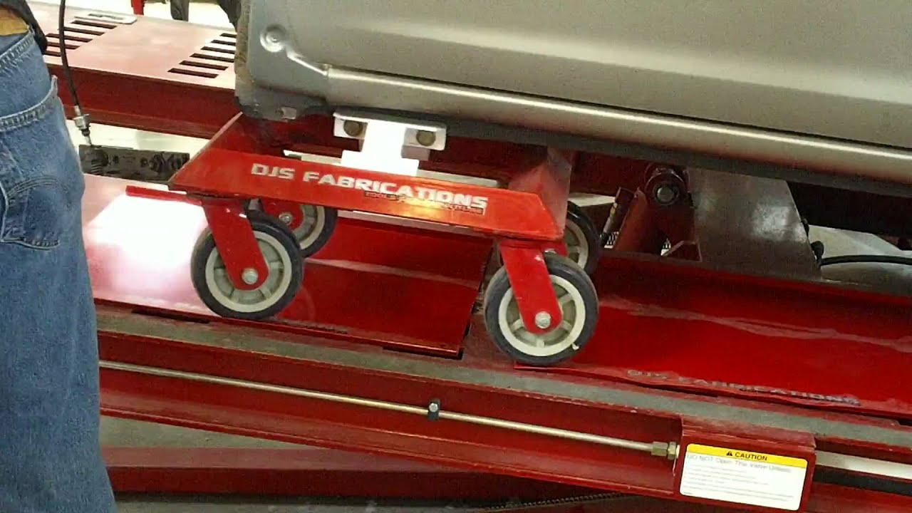 DJS Dolly on Chief Frame Machine - YouTube