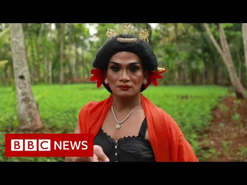 The traditional dance where men perform as women - BBC News