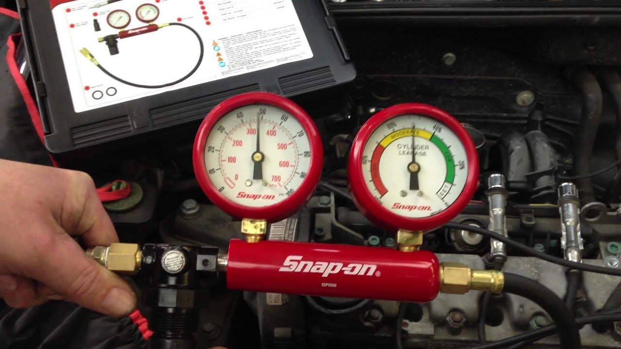 Cylinder Leak Down Test : Snap on uk eepv cylinder leakage tester youtube