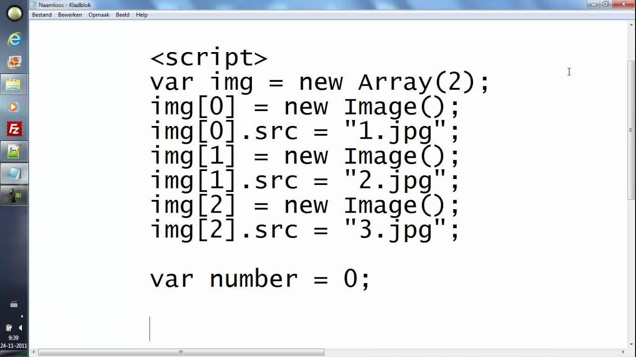 Javascript tutorial 5 image slider youtube baditri Images