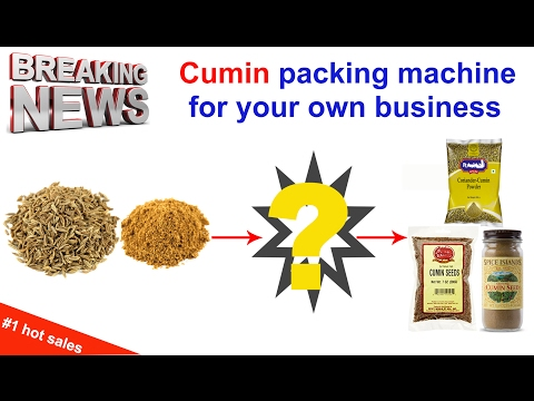 cumin packing machine grain form fill machine for small business