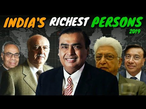 ® Top 5 most powerful | Richest persons in India 2019 | Updated List