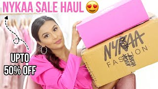 Nykaa's HOT PINK SALE Haul! / Mridul Sharma