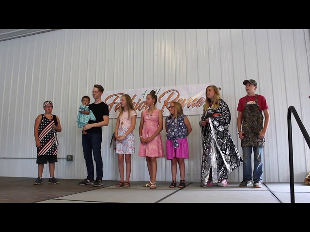 2018 Pennington County 4-H Fashion Revue