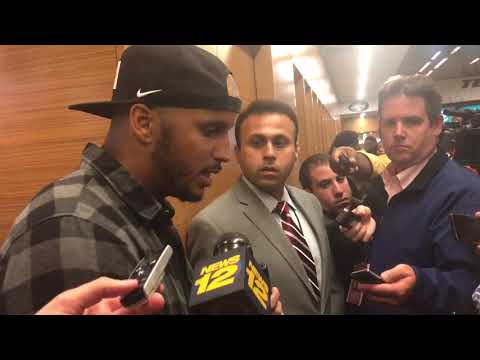 10/15/2017: Jermaine Kearse post-game interview (Patriots 24-Jets 17; controversial play)
