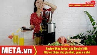 Cách sử dụng máy ép trái cây Biochef 888 - Máy ép chậm cao cấp cho nhà hàng, gia đình