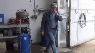 Экспресс замена масла Портативная установка